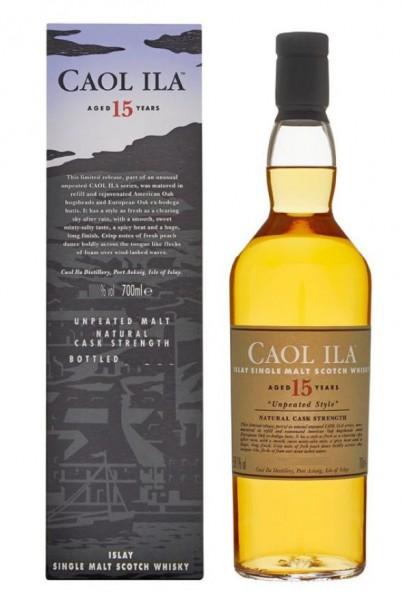 Caol Ila 15 Islay Single Malt unpeated Whisky Abfg. 2016