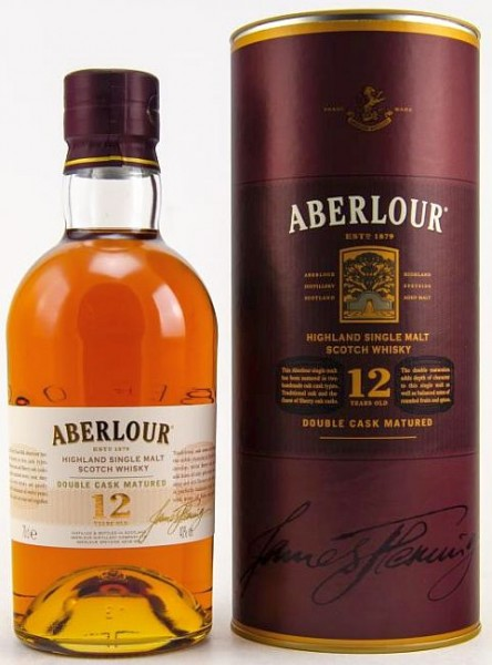 Aberlour LITER 12 years double matured single Malt Whisky