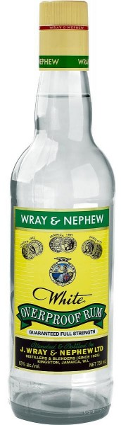 Appleton Wray & Nephew white Rum