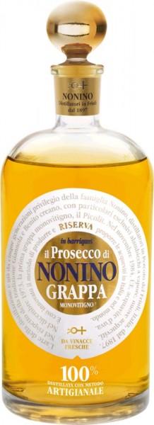 Nonino Grappa Riserva Prosecco barriques