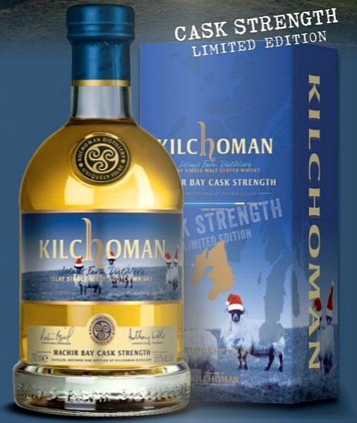 "Kilchoman cask strength festive Edition ""Machir Bay"" Islay Whisky"
