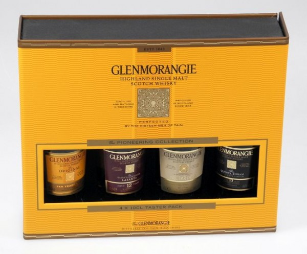 Glenmorangie 4er Tasting Set Single Malt je 0,1l Whisky