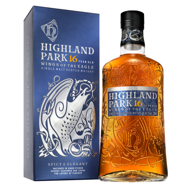 Highland Park 16 years Wings of the Eagle Single Malt Whisky