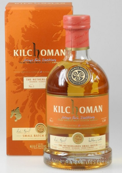 "Kilchoman ""The Netherlands"" Bourbon Oloroso PX Cask finish small batch 1 single Malt Islay"