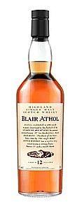 Blair Athol Flora Fauna Speyside Single Malt Whisky