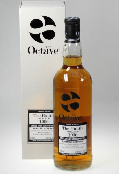 The HUNTLY Octave Cask 1996 distilled Duncan Taylor 20 years old Sherry Octave