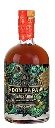 Don Papa MASSKARA Rum Philippinen