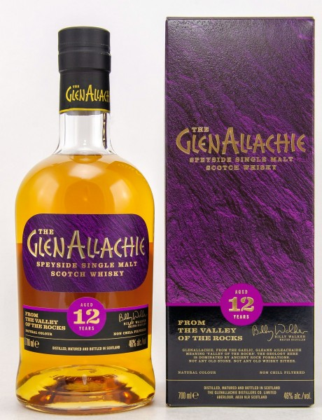 GlenAllachie 12 years Single Malt Sherry Cask finish
