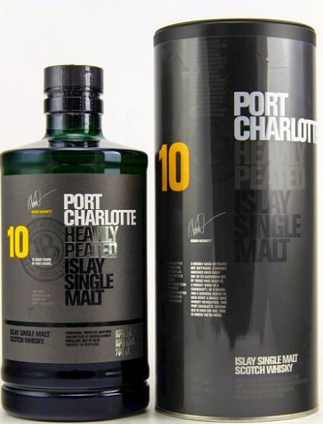 Port Charlotte 10 years heavily peated Whisky
