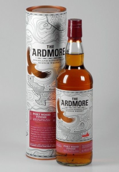 Ardmore Port Cask peated Whisky unchillfiltered Single Malt