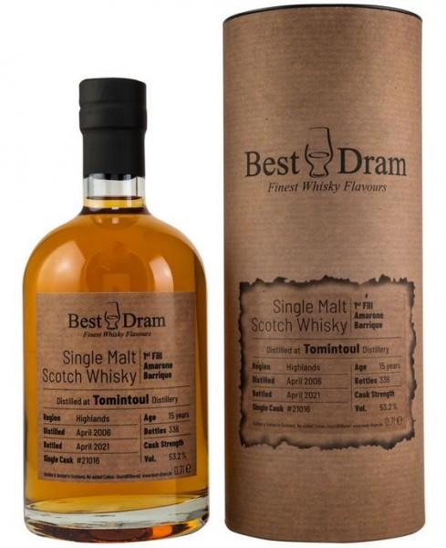 Tomintoul Best Dram Single Malt Whisky