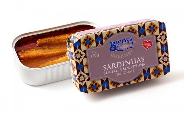 Briosa Gourmet Sardines ohne Haut und Gräten in Tomatensoße