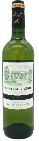 2019er Chateau Vignol Entre deux Mers blanc