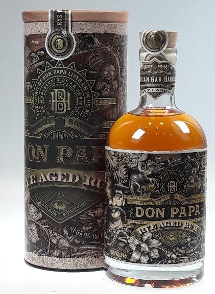 Don Papa RYE AGED Rum Philippinen