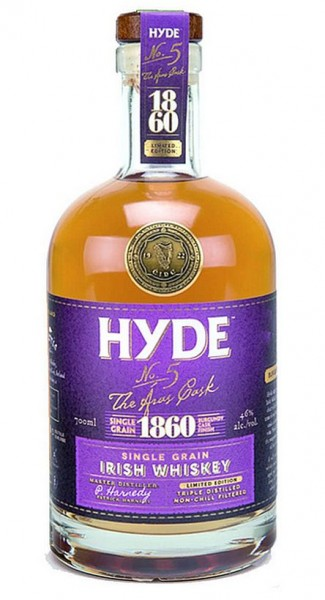 Hyde No 5 Single Grain Burgundy Cask limited Small Batch Irish Whisky