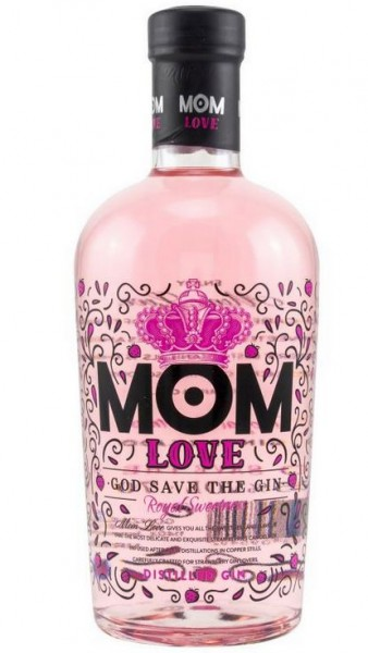 """MOM """"God save the Gin"""" Sweetness strawberry Great Britain"""