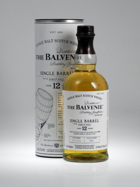 Balvenie 12 years Single Barrel single Malt Whisky