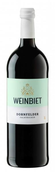 2018er Weinbiet LITER Dornfelder halbtrocken