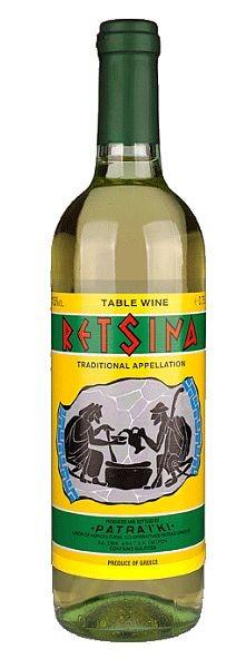 Patraiki Retsina Weißwein
