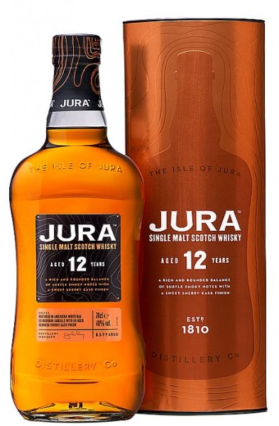 Isle of Jura 12 years Single Malt Whisky