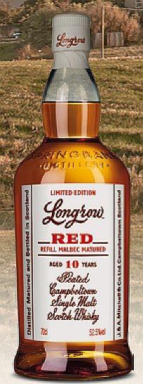 Longrow RED 2021 10 years years Whisky