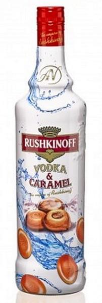 Vodka Karamel Rushkinoff LITER