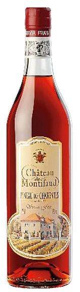 Pineau des Charentes Rouge jeune Chateau Montifaud