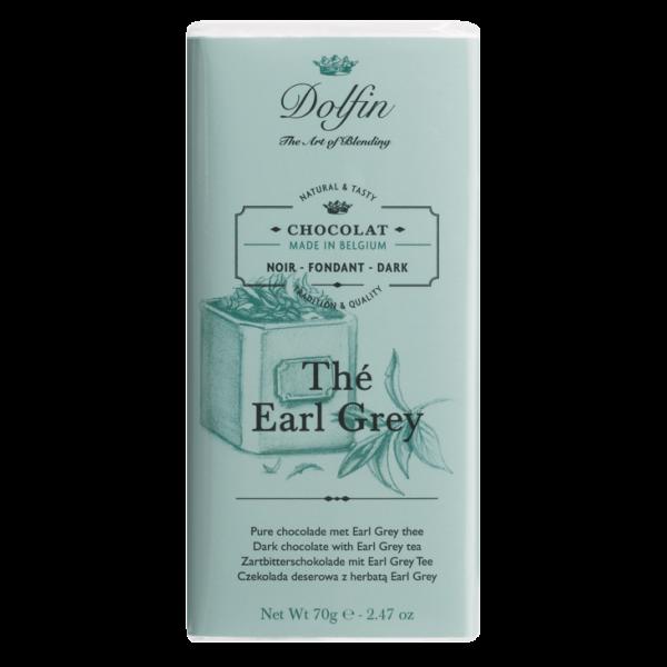 Dolfin Earl Grey 51% Schokolade 70g Tafel
