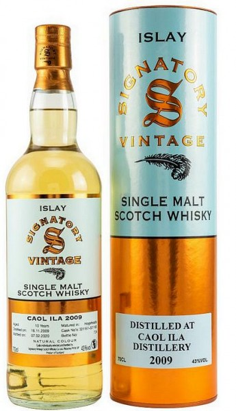Signatory 2009 10 years Caol Ila Single Malt