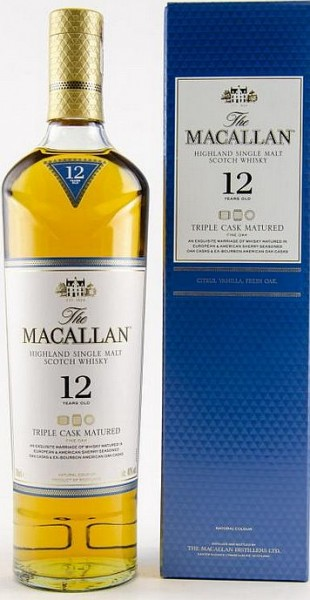 Macallan 12 years triple Cask Highland Whisky