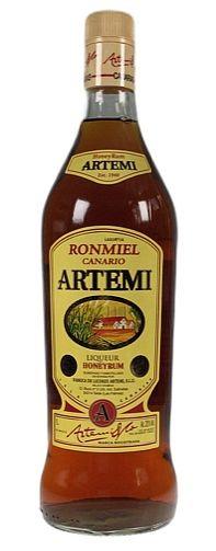 Artemi Ron Miel LITER Honig Rumlikör
