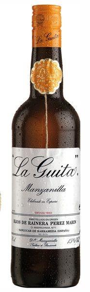 La Guita Manzanilla Sherry fino, Sanlucar de Barrameda