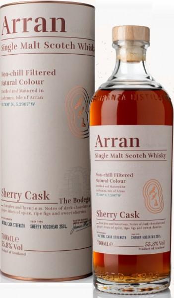 Arran Sherry cask strength Single Malt Whisky