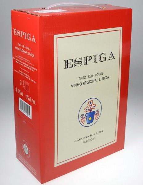 2018er Espiga Tinto Lisboa 3 Liter Bag in Box