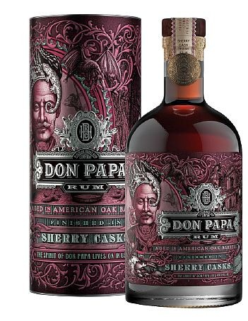 Don Papa SHERRY CASK Rum Philippinen Gepa