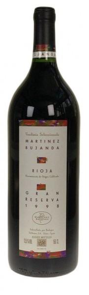 1998er Conde de Valdemar Gran Reserva Rioja tinto MAGNUM