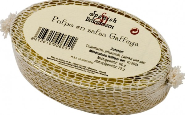 Spanish Delicatessen Pulpo en salsa galleja