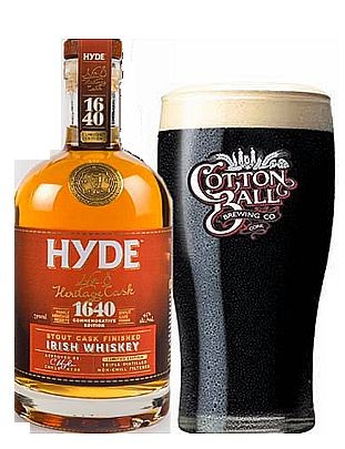 Hyde No 8 Single Malt Stout Sherry Cask limited Small Batch Irish Whisky