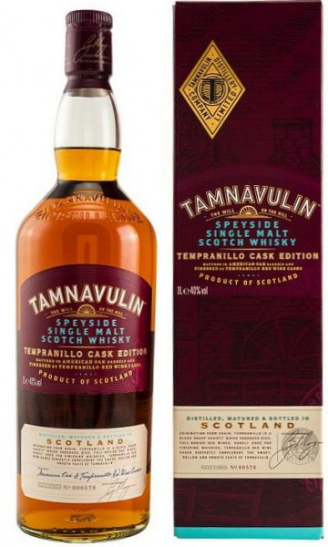 Tamnavulin Tempranillo Speyside Single Malt Whisky