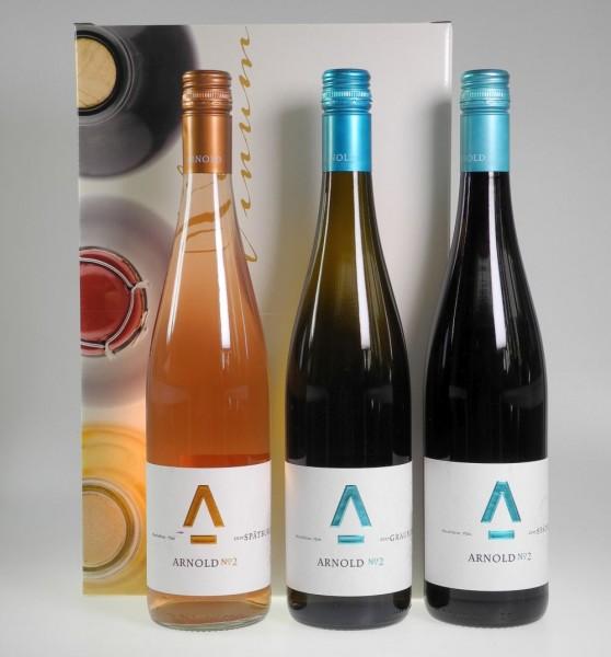 """Weingut Arnold """"Junge Winzer"""" 3er Weinsortiment"""