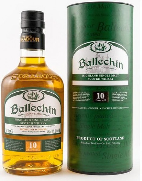 Edradour Ballechin 10 years MINI Heavily Peated Single Malt