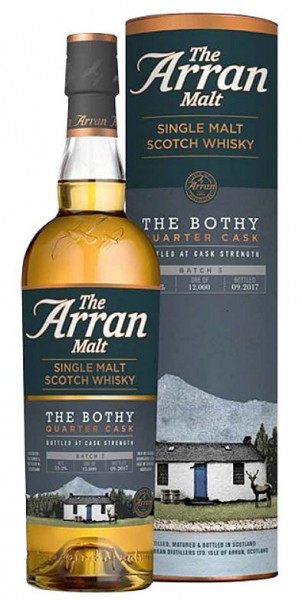 Arran The Bothy unchillfiltered Whisky BATCH 1