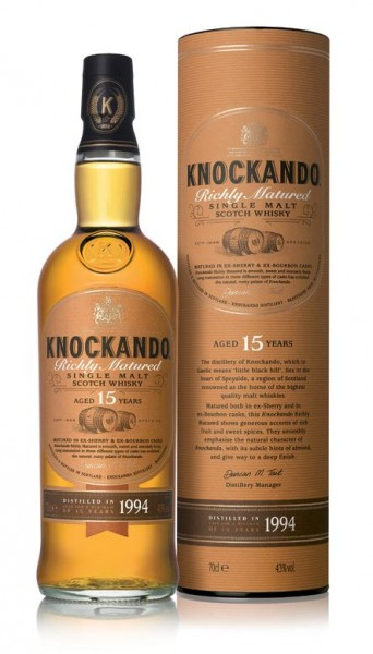 Knockando 15 years old single Malt Whisky