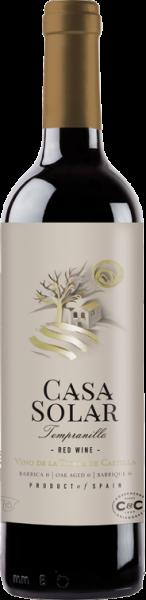 2016er Casa Solar Oro tinto 6 meses barrica