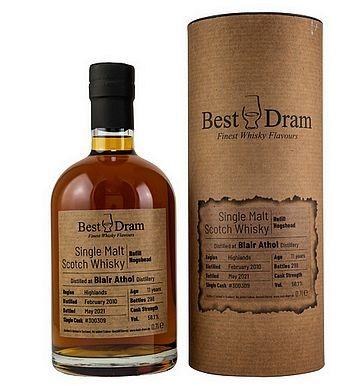 Blair Athol Best Dram Speyside Single Malt Whisky