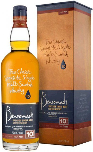 Benromach 10 years 100 Proof Speyside Single Malt Whisky
