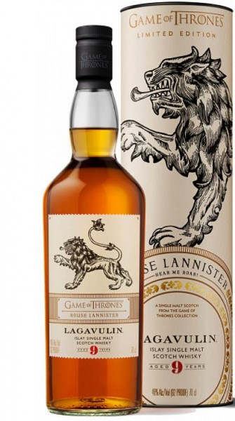 Lagavulin 9 years Game of Thrones Haus Lannister Islay Single Malt Whisky