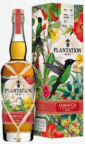 Plantation JAMAICA 17 years 49,5% one time edition