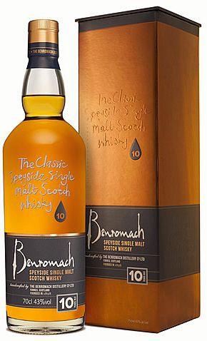 Benromach Organic Speyside Single Malt Whisky