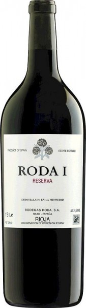 2014er Roda Bodegas Rioja Roda I Reserva